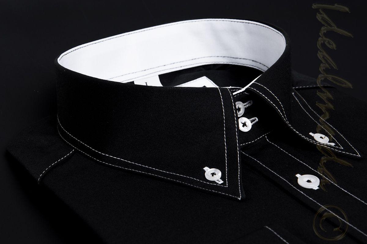 bba9f020bed ... pánská-košile-Adriano-Castellani-černá-AD-9980CB 8